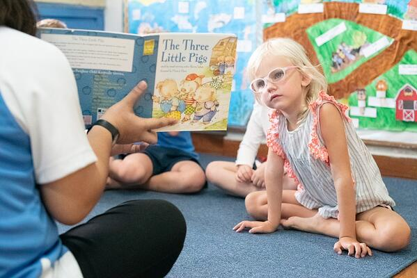 Developing a reading habit in children
