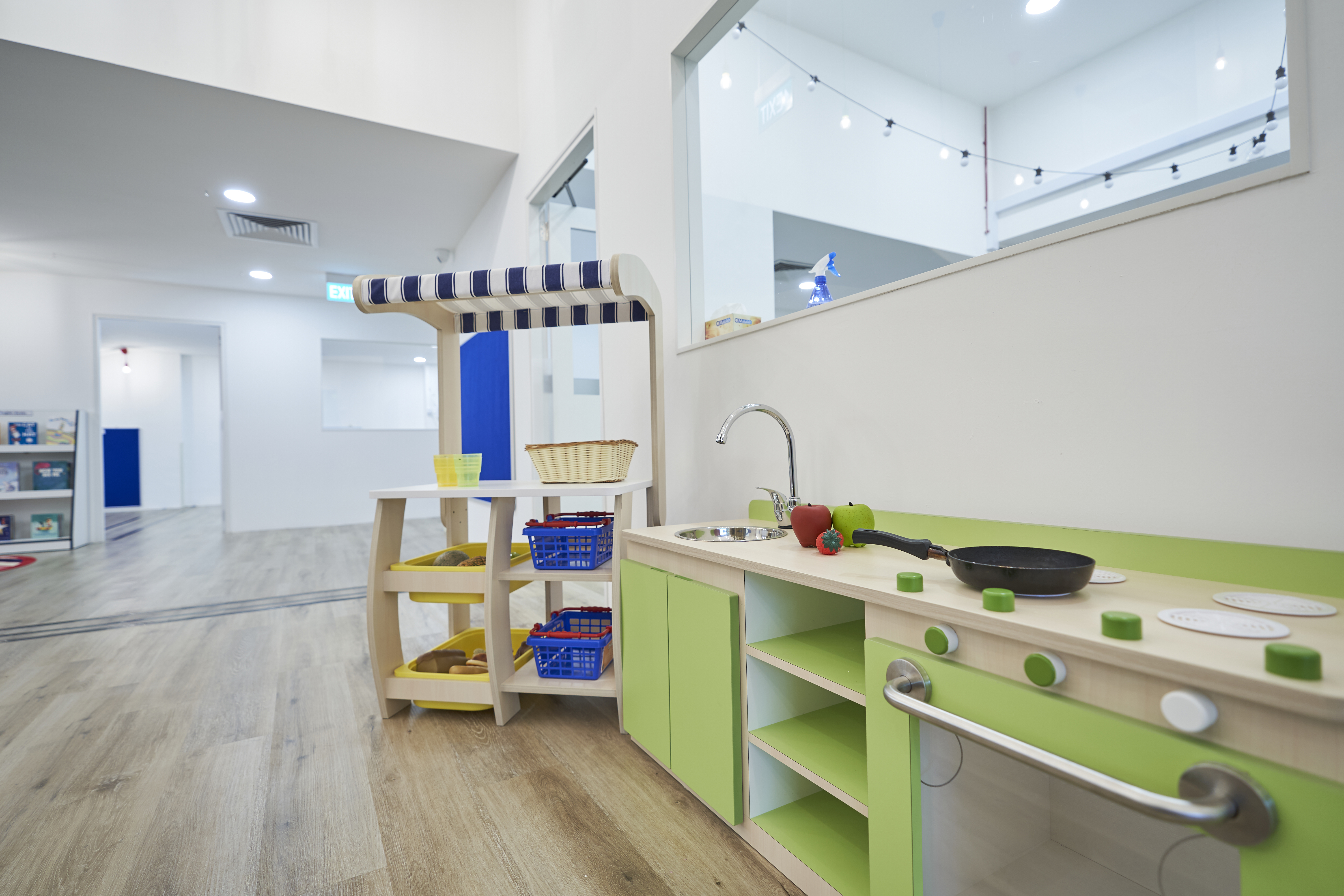 TPY Kitchen Play area close up